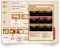 Laserstanzen Onlinerechner für die schnelle Angebotserstellung