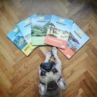 Bulldogge Miüda reist mit Neckermann um die Welt. Quelle: Thomas Cook Touristik GmbH