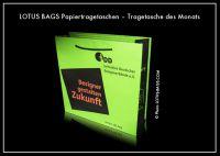 "Papiertragetasche des Monats ""iDD"""