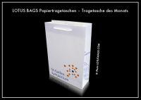 "LOTUS BAGS Papiertragetaschen – Tragetasche des Monats ""Universität St. Gallen"""
