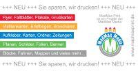 MadMax Print (www.madmaxprint.de) ist die Online-Druckerei der MadMax Media Werbeagentur