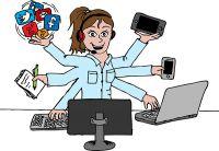 """Die virtuelle Assistentin: Ihr kompetentes """"Mädchen für alles"""""""