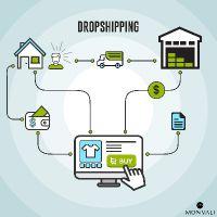 MONVALI Dropshipping Infografik