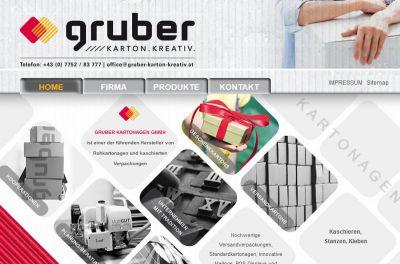 Gruber Kartonagen - Ihr Spezialist für Verpackungen und Geschenk Kartons