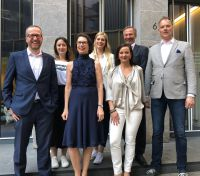 V.l.n.r.: Holger Geißler, Annika Bastians, Heike Bohl, Sina Simons, Irene Schönmann, Jürgen Linnenbürger,Torsten Röcher