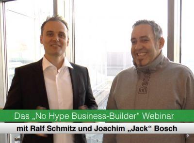 No Hype Marketing Business - Jack Bosch und Ralf Schmitz