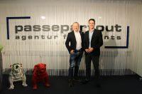 Neueinstellung bei Passepartout: Von links: Geschäftsführer Thorsten Kalmutzke und Bastian Manche