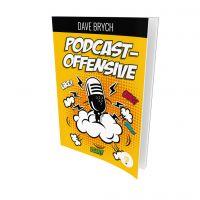 """Buchcover """"Die Podcastoffensive"""" von Dave Brych"""