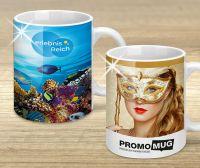 Werbetasse mit individuellem Werbemotiv in HD-Fotoqualität, marketingkomm gerlinger