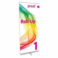 Farbverbindliches Roll-Up in Proof-Qualität auch mit PANTONE und HKS Farben