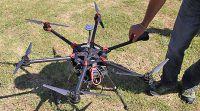 Bei Reuthers im Einsatz: Video Drohnen