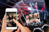 Selfiewall - Mit der neuen Social Wall Handyfotos