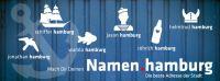 Verpassen Sie nicht die Chance, unter der Hamburg-Domain Ihren Namen zu bekommen!