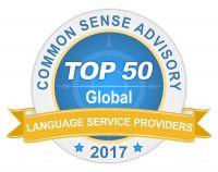 Top 50 Sprachdienstleister