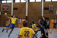 Die Handballer des SV Germania Obrigheim in Aktion.