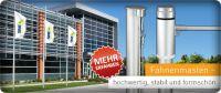 Stationäre & mobile Fahnenmasten von Vispronet®