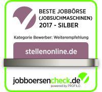 Das Silber-Siegel für stellenonline.de