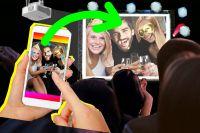 Selfiewall macht Firmenweihnachtsfeier zum Teamevent