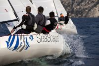 THINK & SAIL, eine neue Erfahrung für Unternehmen: Segeltraining, Regatta und Brand Strategy Boot Camp am Gardasee.