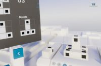 Beispielaufgabe des VR-Tests zur Messung räumlichen Vorstellungsvermögens