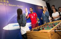Lufthansa Meet and Greet mit Bayern München_Medhi Benatia