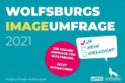 Teaser zur Imageumfrage Wolfsburg (© WMG Wolfsburg)
