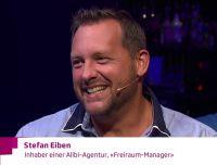 Stefan Eiben, Freiraummanager und Gründer der weltweit 1. Alibi Agentur