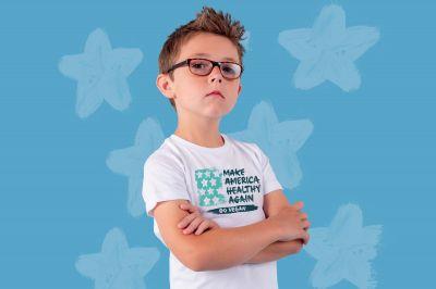 Evan, Präsident der Animal Hero Kids und Botschafter von Million Dollar Vegan
