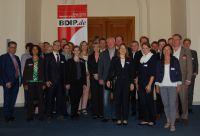 Teilnehmer des 22. Expertenforums des BDIP beim Gruppenbild (Bild: Ralf Kamowski)