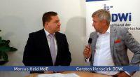 Marcus Held MdB im Gespräch mit BDWi-Vizepräsident Carsten Henselek