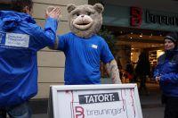 Breuni-Bär, das bekannte Maskottchen des Kaufhauses Breuninger hat heute gekündigt und engagiert sich nun für das Tierschutzbüro