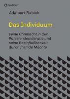"""""""Das Individuum"""" von"""