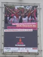 One Billion Rising for Justice 2014