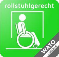 Wato Piktogramm Rollstuhlgerecht