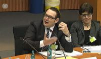 Christian M. Böhnke im Bundestagsausschuss für Arbeit und Soziales