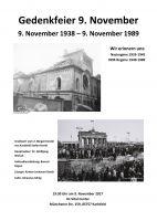 9. November Gedenkfeier Karlsfeld