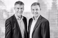 Dr. Dr. Ekkehart Franz (rechts) und Dr. Ewald Lang beraten Unternehmer über den Eintritt in den Ruhestand.