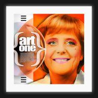 "Angela Merkel, ""art one"" / limitierte Kunstedition"