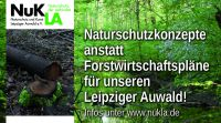 Naturschutzkonzepte statt Forstwirtschaftspläne