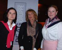 (v.l.) Ines Arland, Prof. Dr. Christiane Funken, Lencke Wischhusen