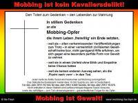 Die folgenschwere kumulierenden Wirkung einzelner Mobbing-Handlungen wird im deutschen Recht nicht berücksichtigt.
