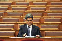 Florian im Parlament