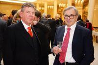 Wolfgang Riederauer und Dr. Victor Ilskiy auf dem Weihnachtsempfang der Russischen Botschaft