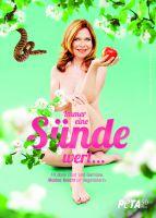 Paradiesisch schön: Schauspielerin Marion Kracht lebt seit 25 Jahren vegetarisch / © Caroline Pitzke für PETA