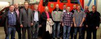 Mitglieder des neuen Arbeitskreis Feuerwehr der Stadt Waldbröl