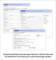 cit intelliForm unterstützt Stadt Berlin bei verkehrsrechtlichen Anordnungen