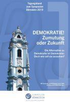 """""""Tagungsband zum Symposion Dürnstein 2019"""" von Mathias Czaika, Ursula Baatz"""