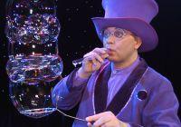 Showeinlage mit Seifenblasenkunst sorgte für beste Unterhaltung