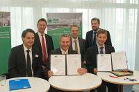 Kooperation unterzeichnet. Foto: Ines Weitermann/ Presse & Marketing