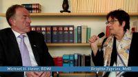 Michael H. Heinz (BDWi) und Brigitte Zypries (SPD)